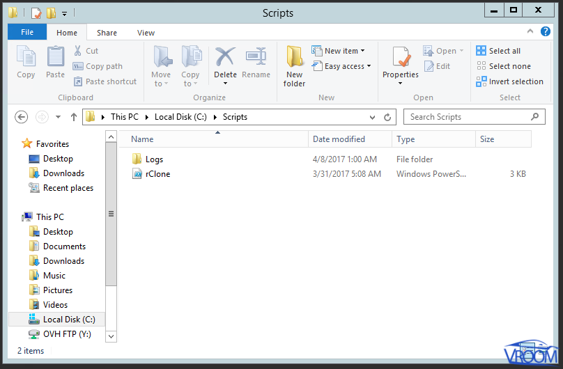 HyperCloud PoSH Screenshot 1