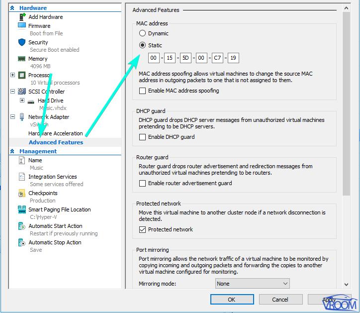 Installing pfsense on OVH ESXi Hyper-V
